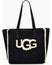 UGG - Women's Alina Sheepskin Tote Bag - Lyst