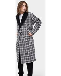 ff46ec3ae0 Lyst - Ugg Jon Plaid Robe in Black for Men