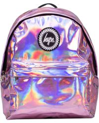 Hype - Holographic Backpack Bag - Lyst