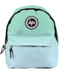 0838ce29a3 Hype Mint pink Speckle Logo Backpack in Blue - Lyst