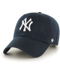 47 Brand - Mlb New York Yankees '47 Clean Up Adjustable Baseball Cap - Lyst
