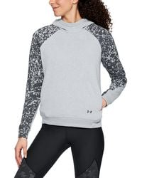 Under Armour - Women's Ua Microthread Terry Hoodie - Lyst
