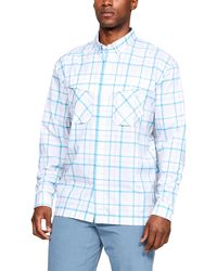 Under Armour - Men's Ua Tide Chaser Plaid Long Sleeve - Lyst