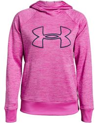 Under Armour - Women's Armour Fleece® Hoodie - Lyst