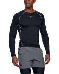 0bf88ad3 Under Armour Men's Coldgear® Evo Long Sleeve Compression Mock in Blue for  Men - Lyst