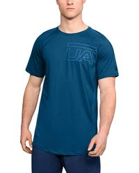 Under Armour - Men's Ua Mk-1 Graphic Short Sleeve - Lyst