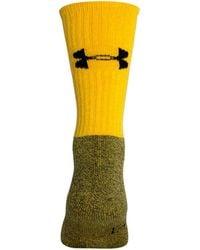 Under Armour - Men's Ua Performance Crew Socks - Lyst