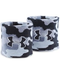 Under Armour - Ua Jacquarded Wristbands - Lyst