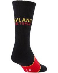 Under Armour - Men's Maryland Ua Crew Socks - Lyst