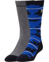Under Armour - Men's Ua Sportstyle Camo Crew Socks - Lyst