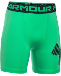 Under Armour - Armour Mid Short - Lyst
