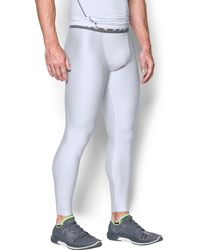 Under Armour - Men's Heatgear® Armour Printed Compression Leggings - Lyst