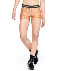 Under Armour - Women's Heatgear® Armour Printed Shorty - Lyst
