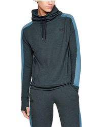 c105c4bd63ad Under Armour - Women s Ua Featherweight Fleece Funnel Neck - Lyst