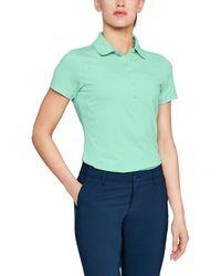 Under Armour - Women's Ua Zinger Short Sleeve Polo - Lyst