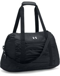 Under Armour Womens Ua The Works Gym Bag 20 In Black