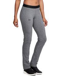 Under Armour - Women's Ua Favorites Straight Leg Pants - Lyst