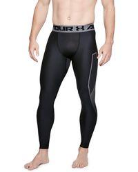 Under Armour - Men's Heatgear® Armour Leggings Graphic - Lyst