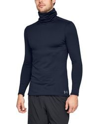 Under Armour - Men's Coldgear® Fitted Funnel Neck - Lyst