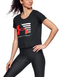 Under Armour - Women's Ua Run Vanguard Boxy T-shirt - Lyst