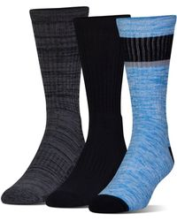 Under Armour - Men's Ua Twisted 2.0 Crew Socks 3 Pack - Lyst