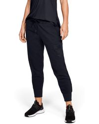 Under Armour - Women's Ua X Project Rock Veterans Day Microthread Fleece Pants - Lyst