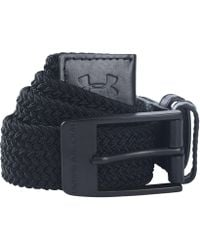 Under Armour - Men's Ua Braided Belt - Lyst