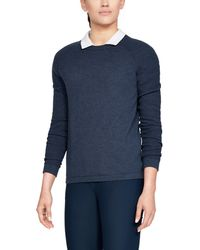 Under Armour - Women's Ua Threadborne Crew Sweater - Lyst