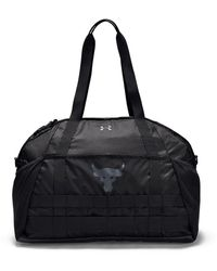 Under Armour Project Rock Gym Bag - Black