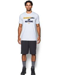 Under Armour - Men's Ua Bball Or Nothing T-shirt - Lyst