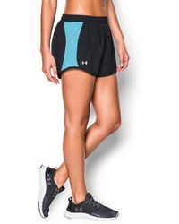 Under Armour | Women's Ua Fly-by Run Short 3 For $40 | Lyst