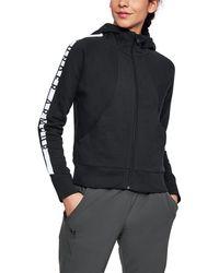 Under Armour - Women's Ua Cotton Ridge Fleece Full Zip Hoodie - Lyst