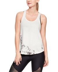 Under Armour - Women's Ink Formation Graphic Crossback Tank - Lyst