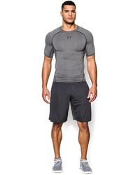 Under Armour | Men's Ua Heatgear® Armour Short Sleeve Compression Shirt | Lyst