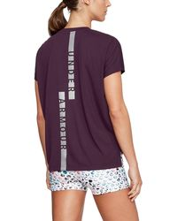 Under Armour - Women's Ua Essentials Wordmark T-shirt - Lyst