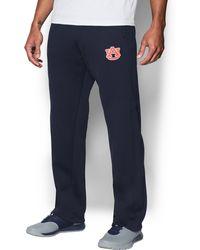Under Armour - Men's Auburn Armour® Fleece Pants - Lyst