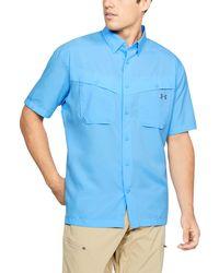 cd74c45f47e Lyst - Under Armour Men s Ua Performance Woven Shirt for Men