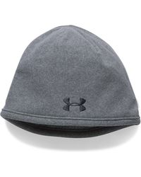 682dc9240d5 Lyst - Under Armour Men s Ua Camo Outdoor Fleece Beanie in Yellow ...