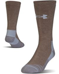 Under Armour - Men's Ua Hitch Heavy 3.0 Boot Sock - Lyst