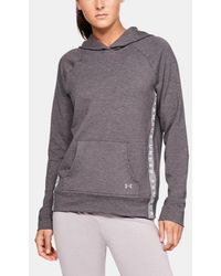 Under Armour - Damen UA Featherweight Fleece-Hoodie - Lyst