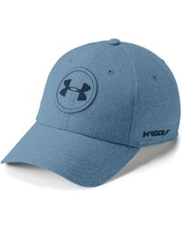 03203c039d4413 Lyst - Under Armour Men s Jordan Spieth Ua Tour Cap in Blue for Men