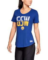 Under Armour - Women s Nba Combine Authentic City Abbreviation T-shirt -  Lyst 828a5408fd