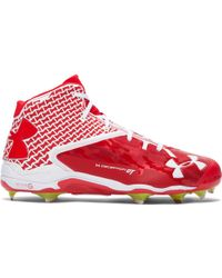 Under Armour - Men's Ua Deception Mid Diamondtips Baseball Cleats — All-star Game Edition - Lyst
