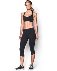 b84440242192b Lyst - Under Armour Women s Armour Bra® 2.0 - D Cup in Black