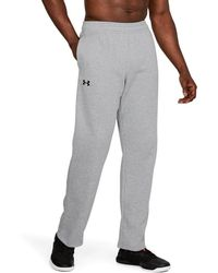 3c4cbb05 Under Armour Men's Southampton Training Pants W/zip in Gray for Men ...