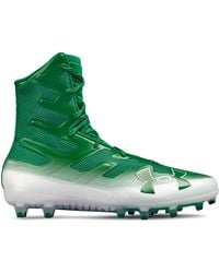 6bfd8141c528 Lyst - Under Armour Men's Ua Highlight Mc Football Cleats in Black ...