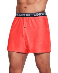 Under Armour - Men's Ua Original Series Boxer Shorts - Lyst
