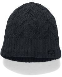 Under Armour Women s Ua Lv Cortina Double Pom Beanie  ships 2 14 18 ... 28b254ddac58