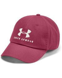 9f7580bdb5cb Under Armour Women's Favorite Sportstyle Logo Cap in Pink - Lyst