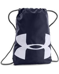 Lyst - Under Armour Ua Camo Sackpack in Black ad376417cf1e7